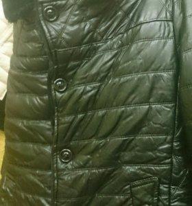 Куртка коженная мужская