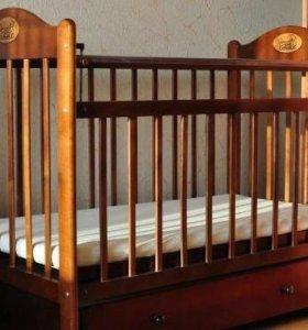 Кровать-маятник +матрац