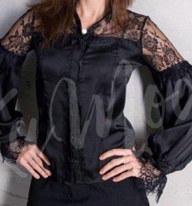 Роскошная ажурная блузка