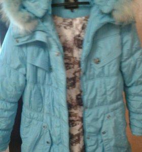 Куртка зимняя б/у