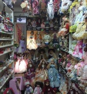 Фарфоровые куклы, статуэтки