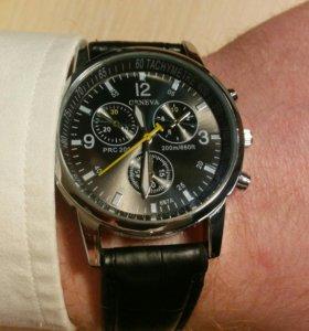 Кварцевые наручные часы Geneva 2015 Black (новые)
