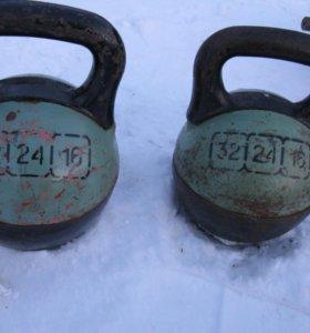Гири разборные 16-24-32 кг