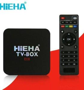 Android ТВ box приставка смарт tv box