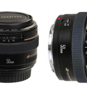 Canon EF 50 1.4 USM Портретник. Идеал. Комплект.