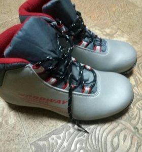 Лыжные ботинки на 36 размер