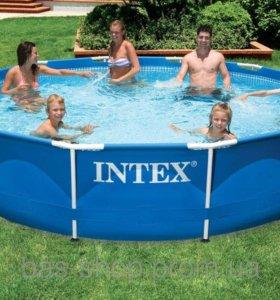 Каркасный бассейн intex 28200 3,05x76