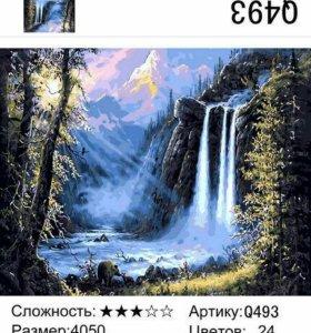 """Картины по номерам """"Природа"""""""