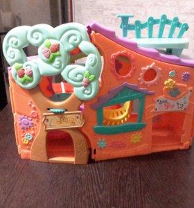 Игрушки little Pets Shop дом в подарок
