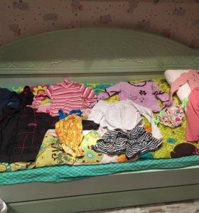 Кофты и штаны пакетом 104-110см
