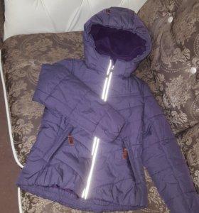 Зимняя мембранная куртка Reima для девочки