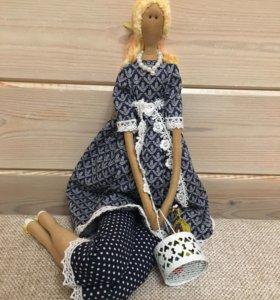 Текстильные куклы - своими руками!