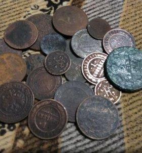 Медь монеты