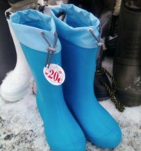 Сапоги -термо-20,зима