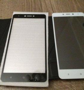 Защитное стекло для Xiaomi redmi note 4x