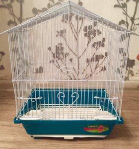 Клетка для волнистых попугаев новая