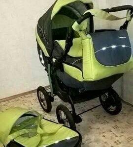 Детская коляска трансформер 3в 1 Rocky Caretto