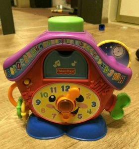 Fisher price Часы с кукушкой и умный телефон