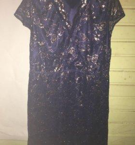 Очень красивое платье 56 р.