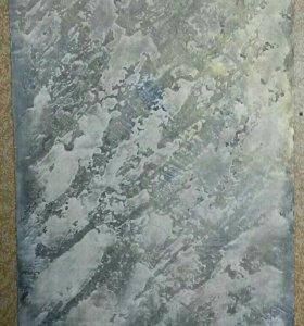 """Современное искусство. Картина """"Скалистая зима"""""""