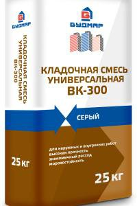 БУДМАР Смесь универсальная кладочная ВК-300, 25 кг