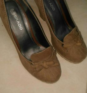 Туфли нубук, размер 36