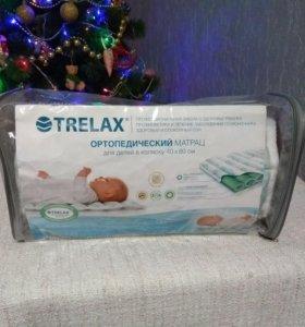 Детский ортопедический матрац Trelax