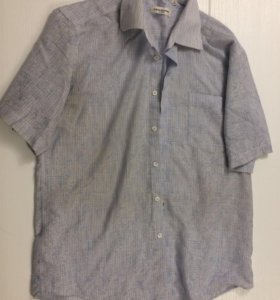 Мужская рубашка 48 размер (см.профиль)