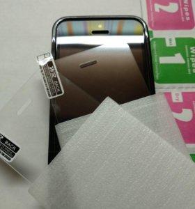 Стекло защитное iPhone 5s, SE, 5.