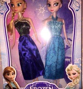 Куклы Эльза и Анна Холодное сердце