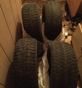 Продам зимние шины 205/55/16 комплект за 4000