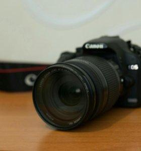 Фотоаппарат Canon 500d + canon 18-200 mm 3.5-5.6
