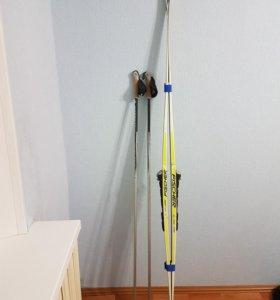 Лыжи комбинированные Fischer