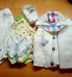 Одежда для малыша до 6 месяцев.