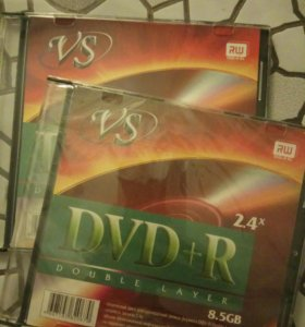 Диски dvd-r новые