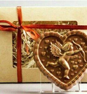Буквы и Фигуры из шоколада