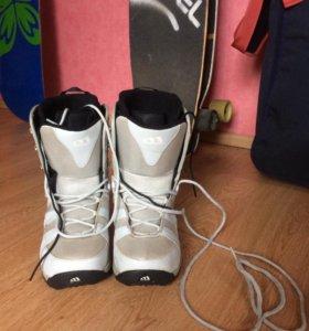 Бу женские сноубордические ботинки Morrow, 38р