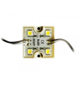 Светодиодный модуль герметичный 1W 12V IP65