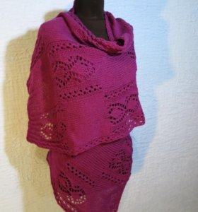Платок шарф бактус палантин хомут
