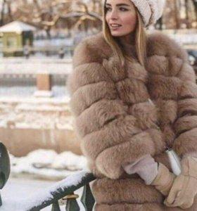 Новые шубы песец,жилетки,парки,пальто норковые