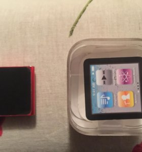 Ipod nano 6 product red