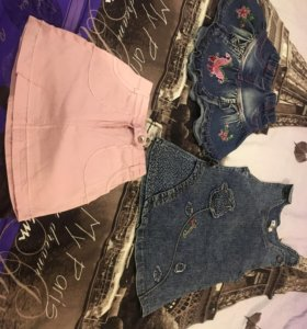 Платья и юбочки по 100 руб