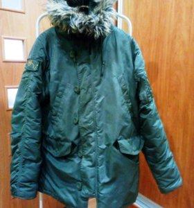 Мужская зимняя куртка - аляска
