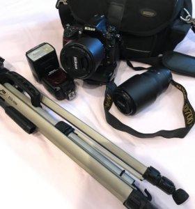 Фотоаппарат Nikon D700 + комплект оборудования