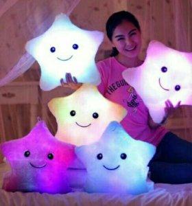 Светящиеся мягкие подушки