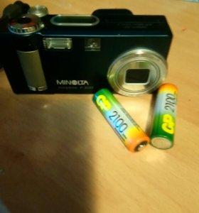 Фотоаппарат на пальчиковых аккумуляторах