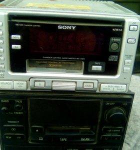 2 автомобильных магнитофона