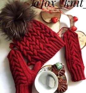 Шапка и рукавички