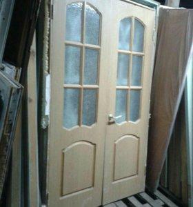 Дверь межкомнатная двухстворчетая