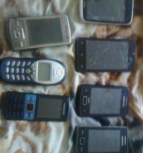 Продам телефоны на запчасти!